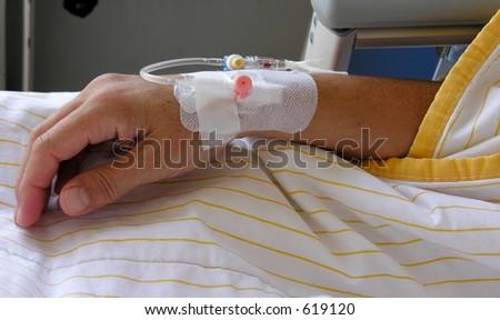 patient - stock photo