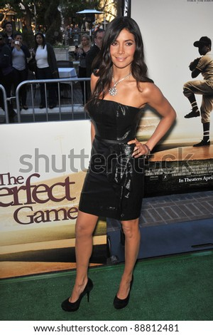 "Patricia Materola at the premiere of her new movie ""The Perfect Game"" at The Grove, Los Angeles. April 5, 2010  Los Angeles, CA Picture: Paul Smith / Featureflash"