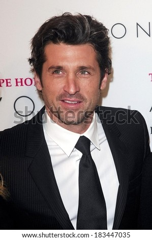 Patrick Dempsey at The Hope Honors 8th Annual Avon Foundtion Awards, Cipriani Restaurant 42nd Street, New York, NY, October 28, 2008  - stock photo