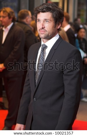 Patrick Dempsey at the London Film Festival premiere of Enchanted in London - stock photo