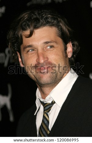 "Patrick Dempsey at the William Rast Spring 2007 ""Street Sexy"" Fashion Show. Social Hollywood, Los Angeles, CA. 10-17-06"
