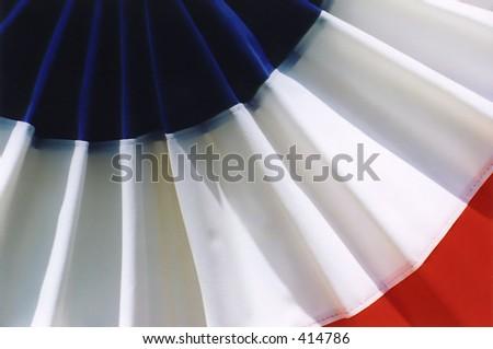 Patriotic Banner - stock photo