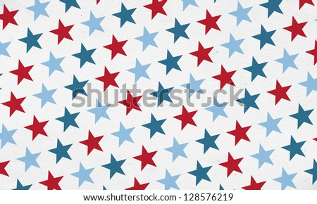 Patriotic Stars Backgroud