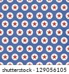 Patriotic 4th of July Background/Digital Paper - stock vector