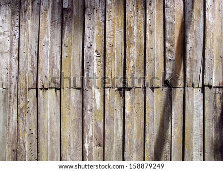 Pattern and background of brownish wood.