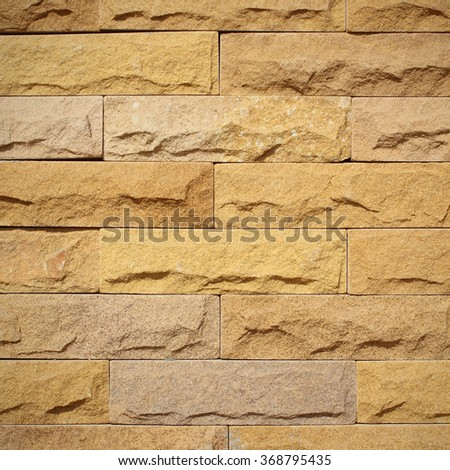 Pattern background color of crack real stone wall on cement