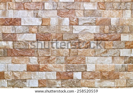 Pattern beautiful stone for background, marbled - stock photo