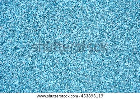 Pattern blue urea fertilizer can use for background - stock photo