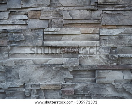 Pattern Brick Wall Of Modern Style Design Decorative, Surface Of Stone Wall