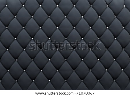 Pattern. Buttoned texture. Luxurious background. Upholstery