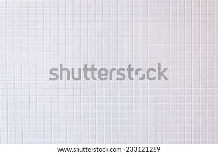 pattern color wall and floor mosaic tiles for background - stock photo