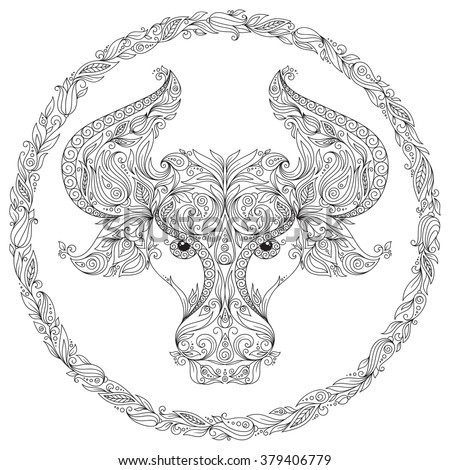 africain zodiac coloring pages - photo#16