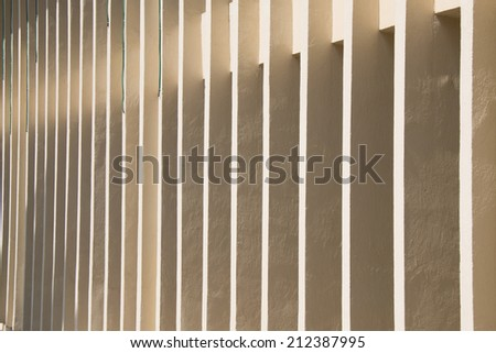 Pattern formed by the windows in the wall of a building. Background - stock photo