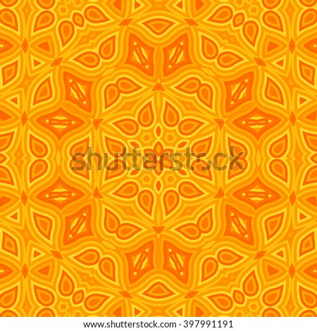 Pattern from ornamental elements. Indian Pattern Design. - stock photo