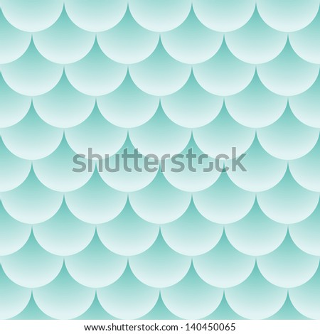 Pattern like fish scales - abstract seamless texture - stock photo