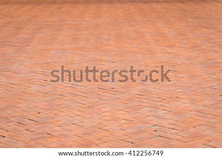 Pattern of Brick footpath background