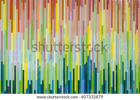 Pattern of colorful mosaic wall texture and background
