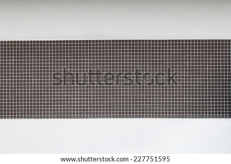 pattern of Mosaic on a decorate background - stock photo