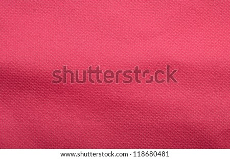pattern of red fabric background - stock photo
