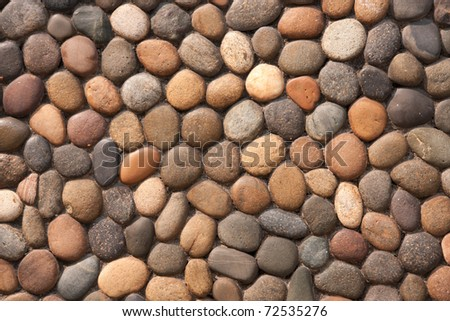 Pattern of rock - stock photo