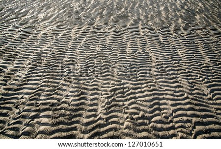 pattern of sand
