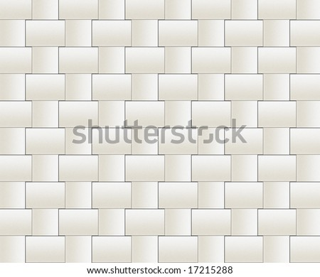 pattern of soft and creamy tiles