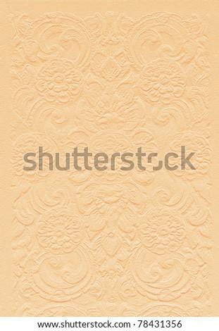 Pattern of Thai art on Sandstone - stock photo