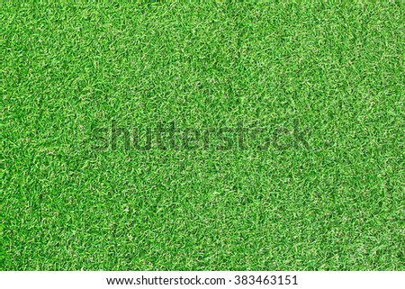 Pattern of the artificial grass surface - stock photo