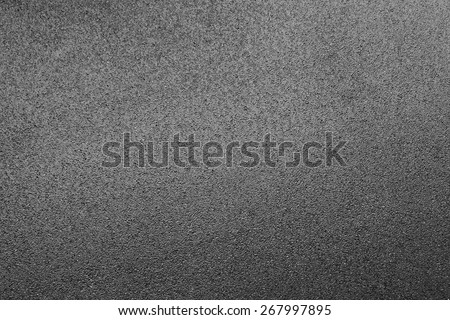 Pattern of the asphalt road from top view - stock photo