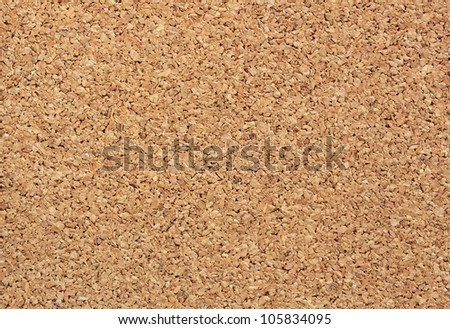 Pattern of the cork board - stock photo