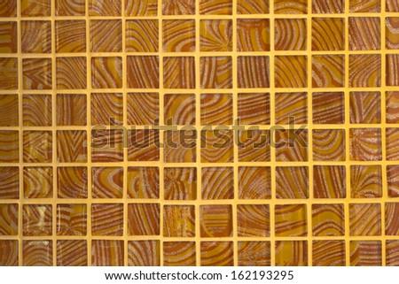 Pattern of the floor tiles. - stock photo