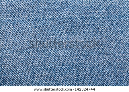 Pattern of the jeans texture cloths