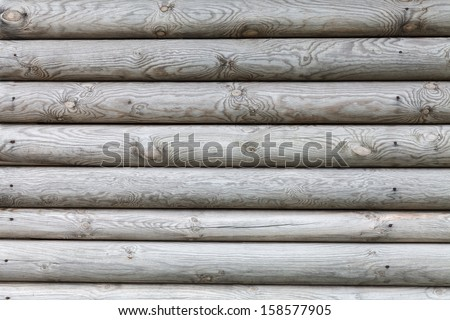 Pattern of wooden wall. Perfect nature background  - stock photo