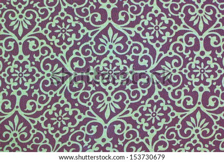 Pattern on the cloth or Fabric for background texture - stock photo