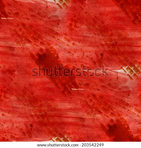 pattern seamless red watercolor texture background wallpaper hand-drawing