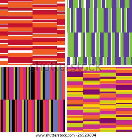 pattern series collection of 4