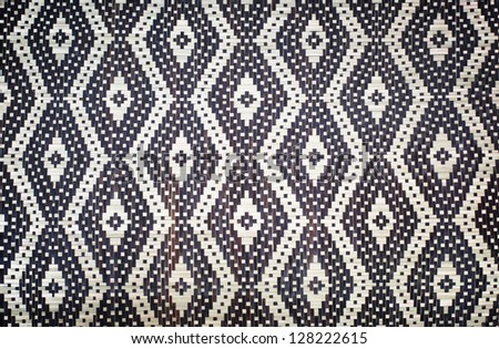 Patterned fabric art
