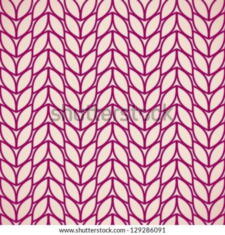 Patterned leaves - stock photo
