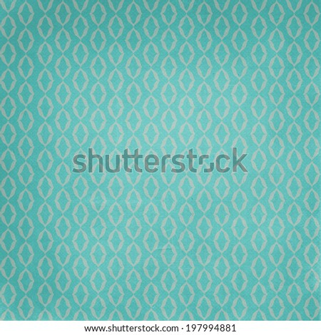 patterned texture in aqua blue colors - stock photo