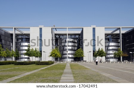 Paul Loebe Haus - Parliamentary Office Building in Berlin