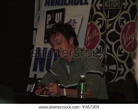Paul McCartney - stock photo