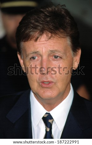 Paul McCartney at the Redbook Mothers and Shakers Awards, NYC, 9/10/2001 by CJ Contino
