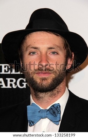 Paul McDonald at the L.A. Gay And Lesbian Center Hosts 'An Evening' honoring Amy Pascal and Ralph Ricci, Beverly Wilshire, Beverly Hills, CA 03-21-13 - stock photo