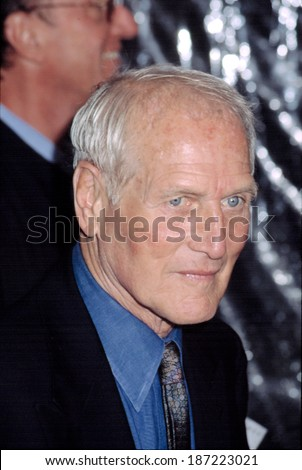 Paul Newman at premiere of ROAD TO PERDITION, NY 7/9/2002