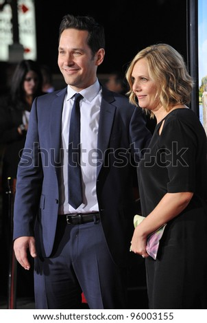 paul rudd wife at the ...