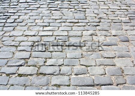 pavement tile - stock photo