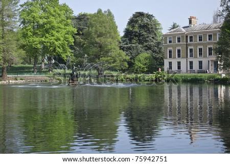 Pavilion in Kew Gardens - stock photo