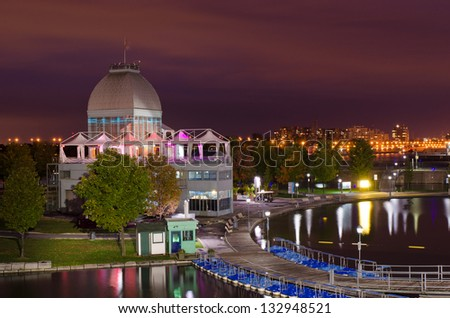 Pavillon du bassin Bonsecours, Montreal - stock photo