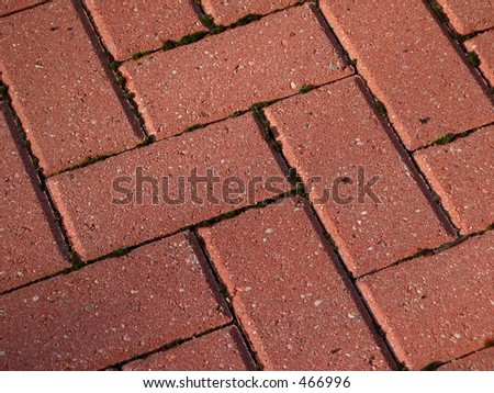 Paving bricks - stock photo