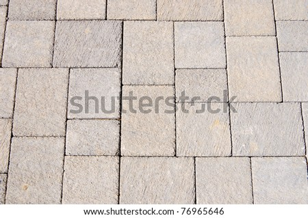 Paving stones as texture or background - stock photo